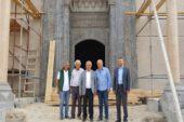 Paşa Camii'nde çalışmalar sürüyor