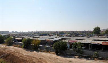 1. Küçük Sanayi Sitesi Konya yoluna taşınacak