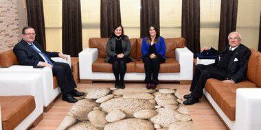 Rektörlerden Solak'a ziyaret – Kocatepe Gazetesi