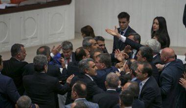 HDP'li hakaret etti, Özkaya karşı çıktı