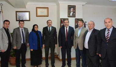 Yavilioğlu, AK Parti'yi ziyaret etti