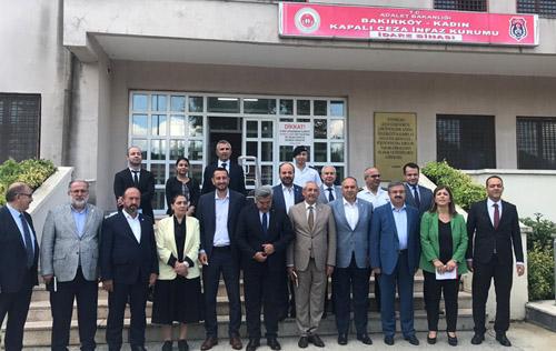Yurdunuseven, Bakırköy Ceza İnfaz Kurumu'nda incelemelerde bulundu