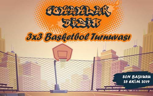 3X3 basketbol ve voleybol turnuvası düzenleniyor
