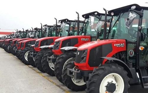 Afyon traktör sayısında Türkiye'de 15'inci