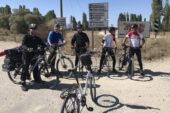 Afyonlu bisikletçiler  Çataloluk'ta kamp yaptı
