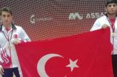 Akay ve Alkız Bulgaristan'da yarıştı
