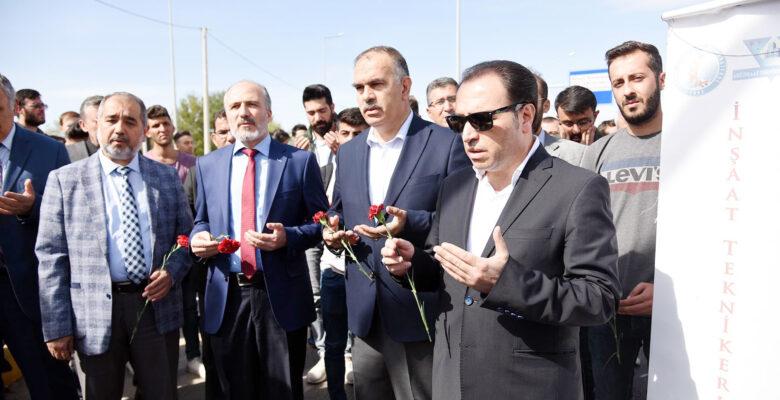Eroğlu, ANS kavşağına alt geçit yapılması için girişimde bulundu