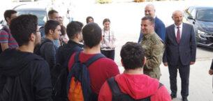 Garnizon Komutanı Alp'ten Civelek'e ziyaret