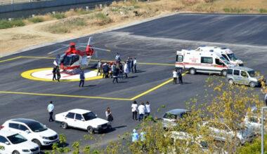 Helikopter pistine ilk hasta indi