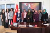Kadınlar Meclisi'nden ATSO ve AEV'e ziyaret