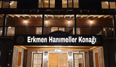 Erkmen'de Hanımeller Konağı yarın açılacak