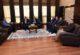 Rektör Karakaş misafirlerini kabul etti