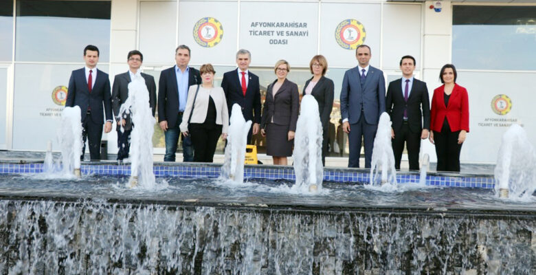 Romanya ve Litvanya heyeti, firmaları ziyaret etti