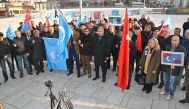 Afyon halkı Çin zulmüne tepki göstersin!
