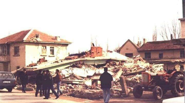 Bolvadin depreminin 19'uncu yıldönümü