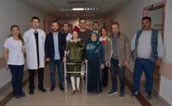 Devlet Hastanesi'nde başarılı ameliyat