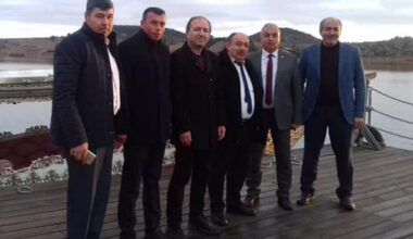 MHP'li başkanlardan hayırlı olsun ziyareti