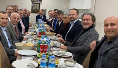 Millet İttifakı üyelerine özel yemek