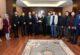 Rektör Karakaş, misafirlerini kabul etti