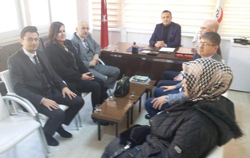 SMMMO'dan  Kızılay'a ziyaret