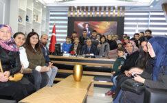 TCDD özel öğrencileri ağırladı