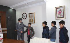 İmam Hatip öğrencilerinden sürpriz ziyaret