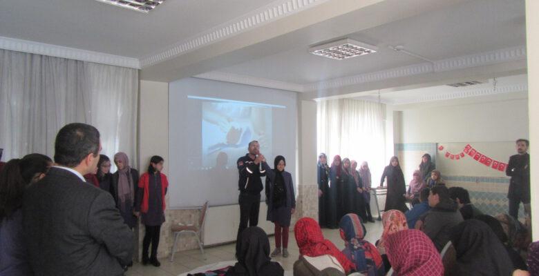AFAD'dan ilk yardım eğitimi