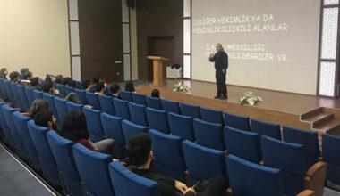 AFSÜ öğrencilerine kariyer fırsatları anlatıldı