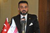 AFSİAD'da Şehitoğlu bayrağı Sayın'a devretti