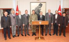ATSO yönetimi Tuğgeneral Alp'i ziyaret etti