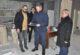 Albay Çömez, İscehisar'da ziyaretlerde bulundu