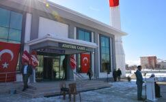 Atatürk Camii ibadete açıldı