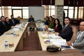 Avrupa Staj fırsatları projesinin ikinci toplantısı yapıldı
