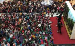 Çizgi film karakterleri Park  Afyon AVM'de çocuklarla buluştu