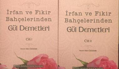Özdemir'in 2 ciltlik eseri yayınlandı