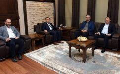 Özdemir, Rektör Karakaş'ı ziyaret etti