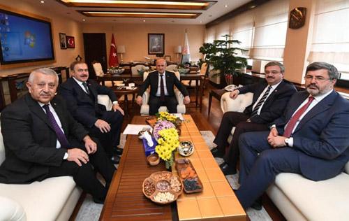 Ankara'da önemli temaslar