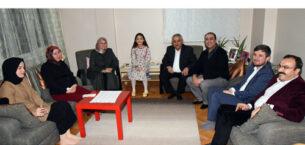 Başkan Zeybek'ten Asude'ye sürpriz ziyaret