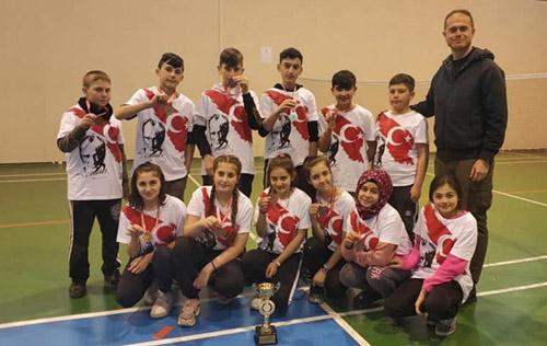 Badmintonun Yıldızları belirlendi
