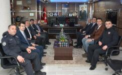Kaymakam Öztürk'ten, Şuhut Belediyesi'ne ziyaret
