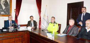 Otobüs kazalarının önlenmesi için tedbirler görüşüldü