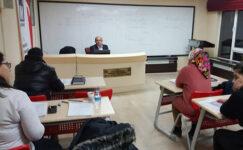 SMMMO'dan staja hazırlık kursu