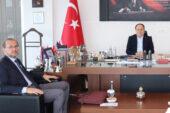 Rektör Okumuş'tan Serteser'e ziyaret