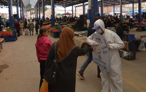 Sandıklı'da başlatılan mobil dezenfektan Türkiye'de ilk