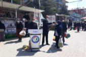 İhsaniye'de korona tedbirleri devam ediyor