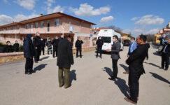 Açık cezaevi personeli Hüdai Kaplıcaları'nda izole oluyor