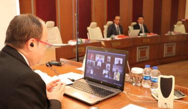 ATSO Yönetim Kurulu, video konferans ile toplantı yaptı
