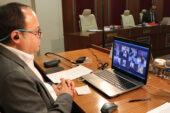 ATSO'da toplantılar video konferans ile yapıyor
