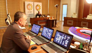 Merdivenci ve Serteser, ATSO Meclis üyeleri ile istişare yaptı
