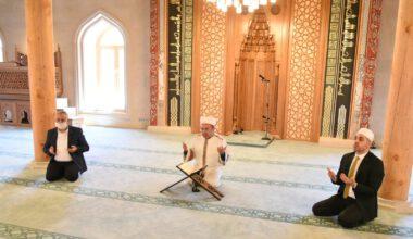 Paşa Camii'nde ilk Kur'an-ı Kerim okundu